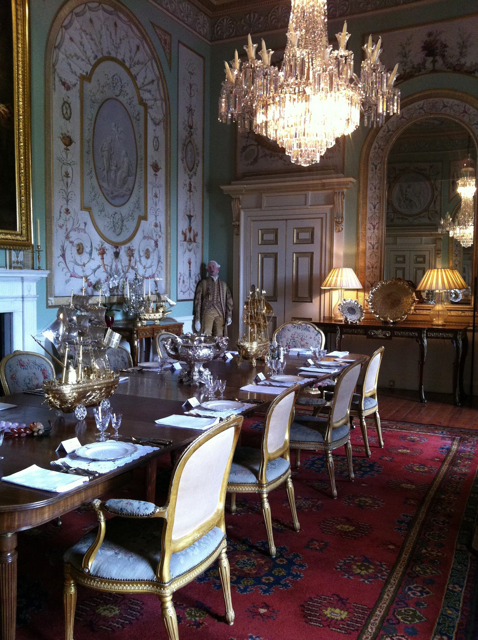Dining Room  Inveraray Castle The Ancestral Home Of The Duke Of Captivating Castle Dining Room Design Decoration
