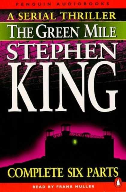 stephen king books | Stephen King Books - Green Mile Audio Box Set