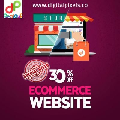 Ecommerce Website Design & Shopping Cart   Digital Pixels