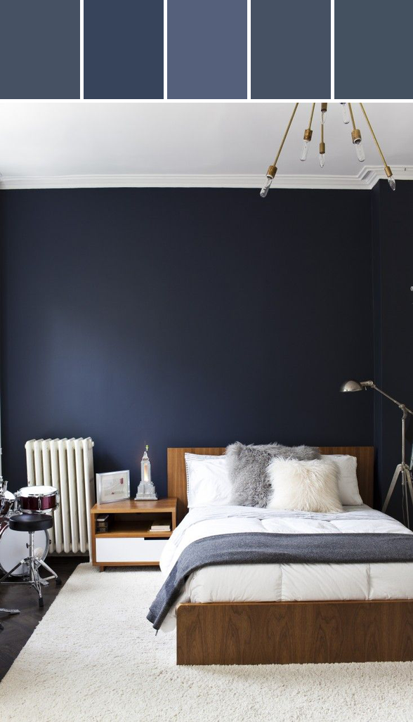 10 Navy Rooms To Inspire You To Pick Up The Paintbrush (PHOTOS) | HuffPost
