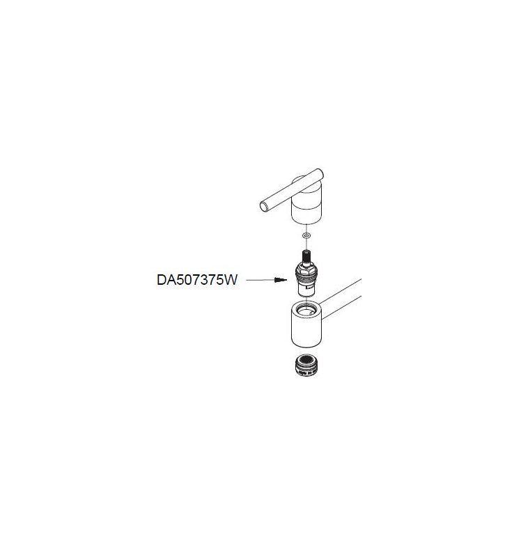Danze Da507375w Products Faucet Faucet Parts Handle