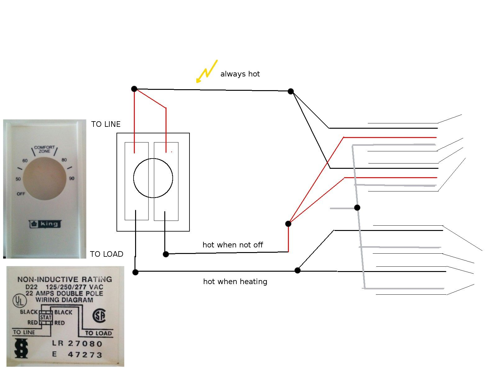 Unique Dual Immersion Heater Switch Wiring Diagram Thermostat Wiring Baseboard Heater Diagram