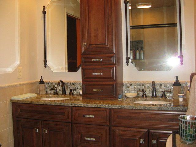 traditional white bathroom designs - Deciding Between Contemporary