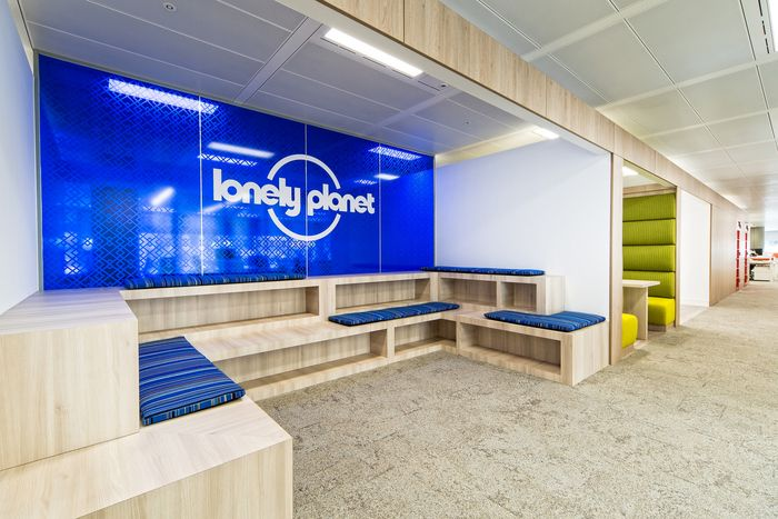 Office tour lonely planet london offices offices informal meeting and touchdown office - Lonely planet head office ...