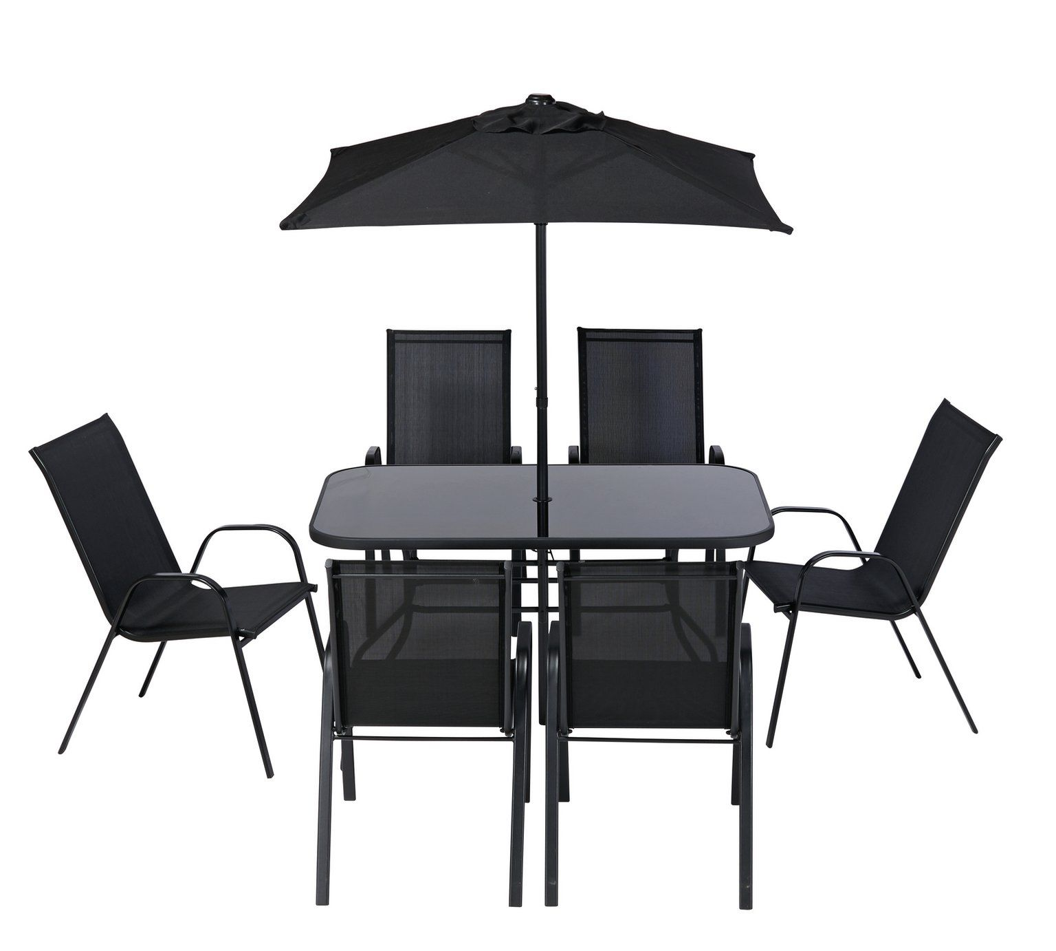 Argos Sicily Garden Table And Chairs: Buy Argos Home Sicily 6 Seater Metal Patio Set