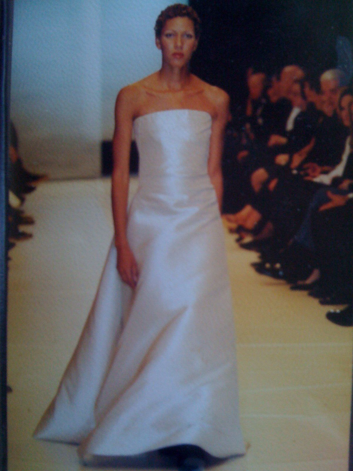 Throwback ... on the Runway for Donna Karan