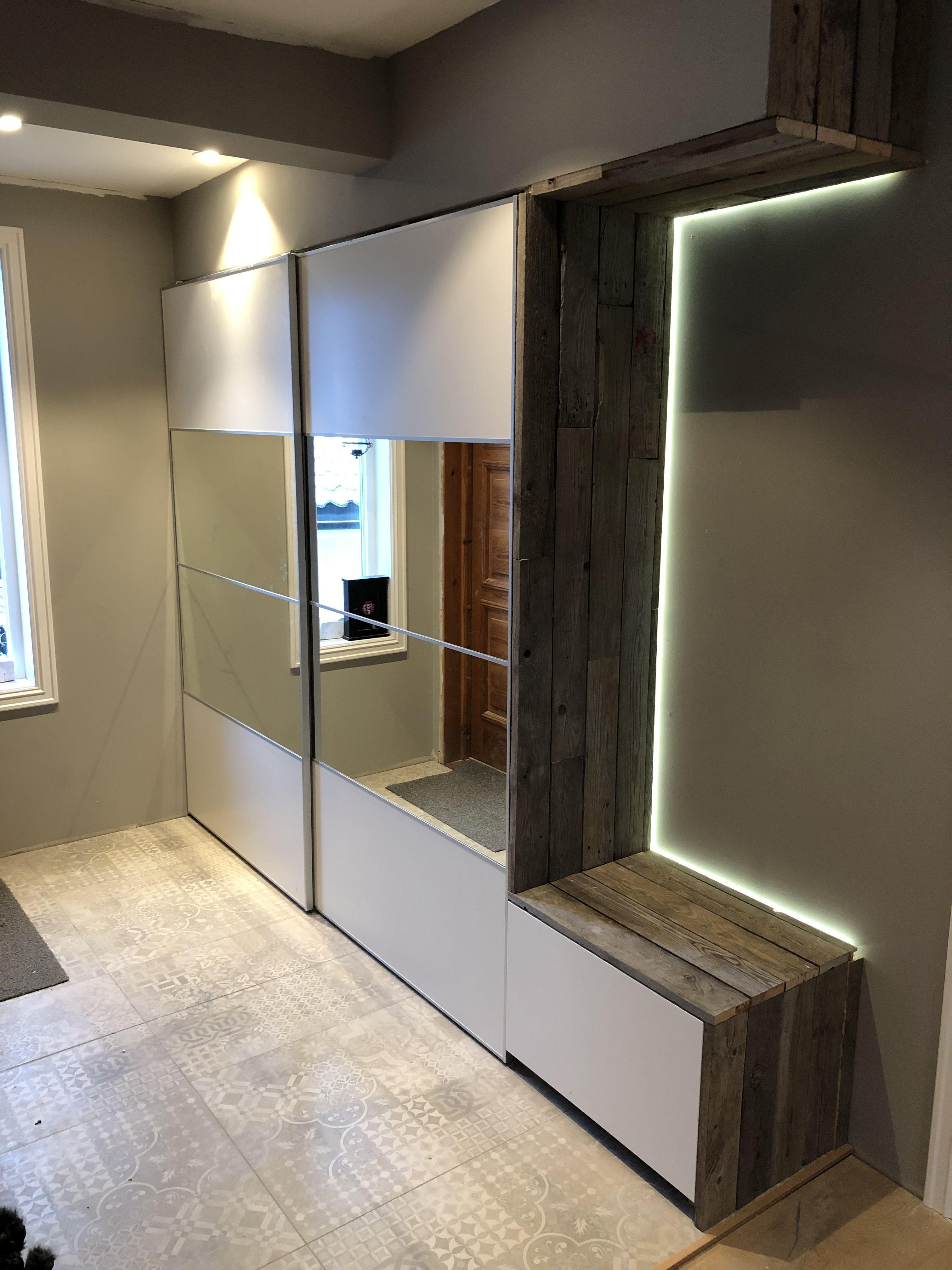 Garderobe I Entre Ikea Hack Interior Skyvedorer
