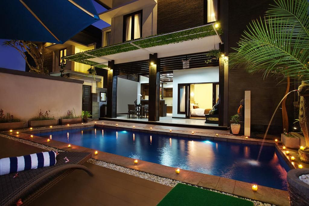 modern balinese house design - Bali Home Designs