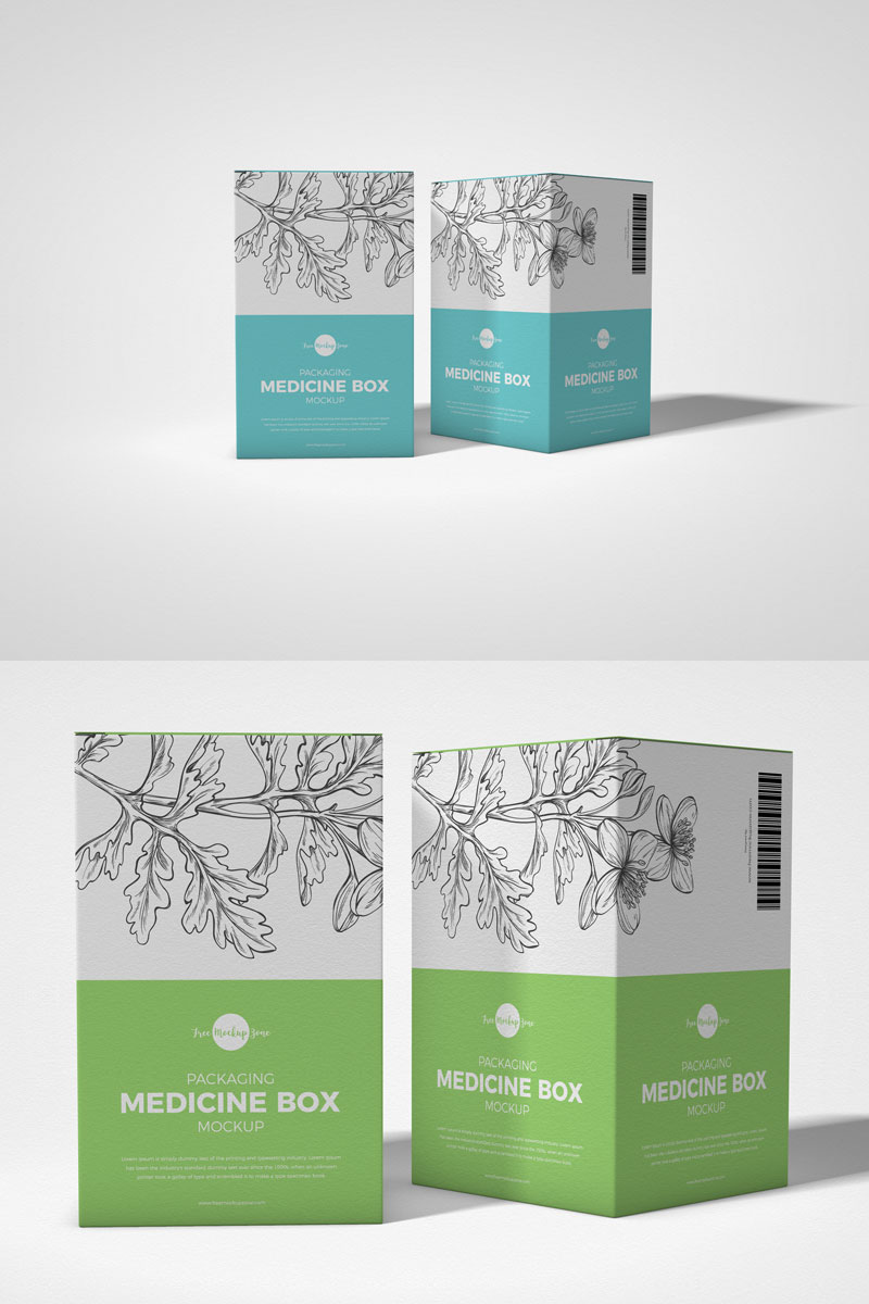 Download Free Packaging Medicine Box Mockup Graphic Google Tasty Graphic Designs Collectiongraphic Googl Medicine Box Design Packing Box Design Box Packaging Design