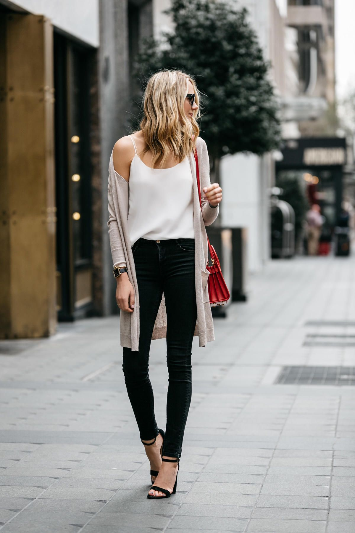 Long Cardigan Outfit Inspiration - An Unblurred Lady  Spring