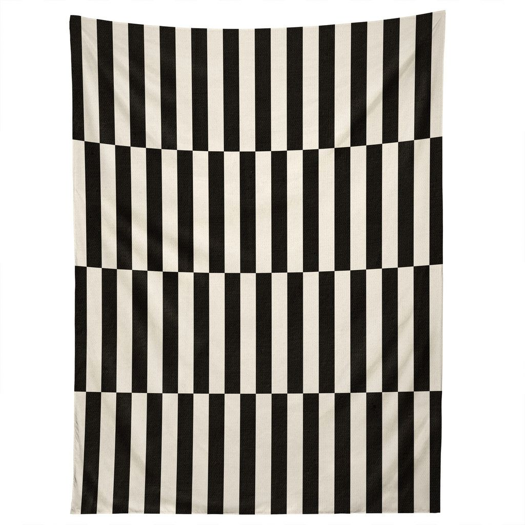 Bianca Green Black And White Order Tapestry | DENY Designs Home Accessories