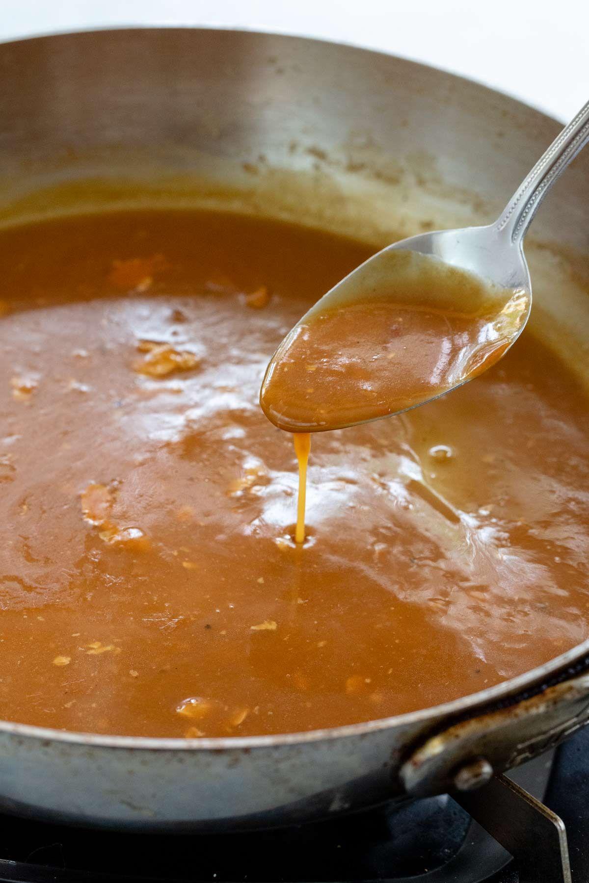 How To Make Gravy Jessica Gavin Recipe How To Make Gravy Easy Gravy Homemade Brown Gravy
