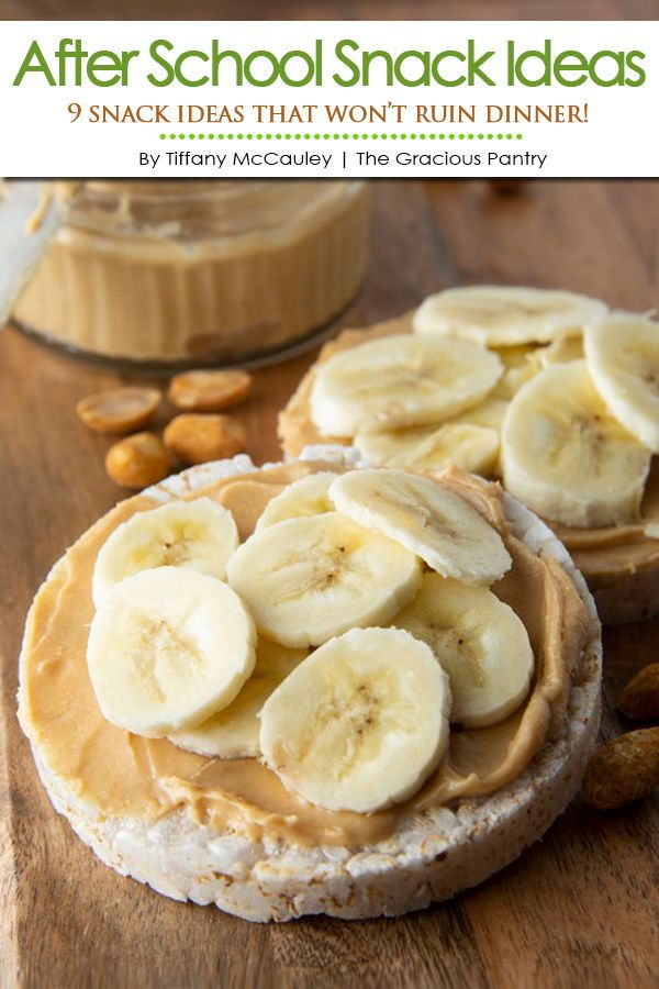 Clean Eating After School Snack Ideas