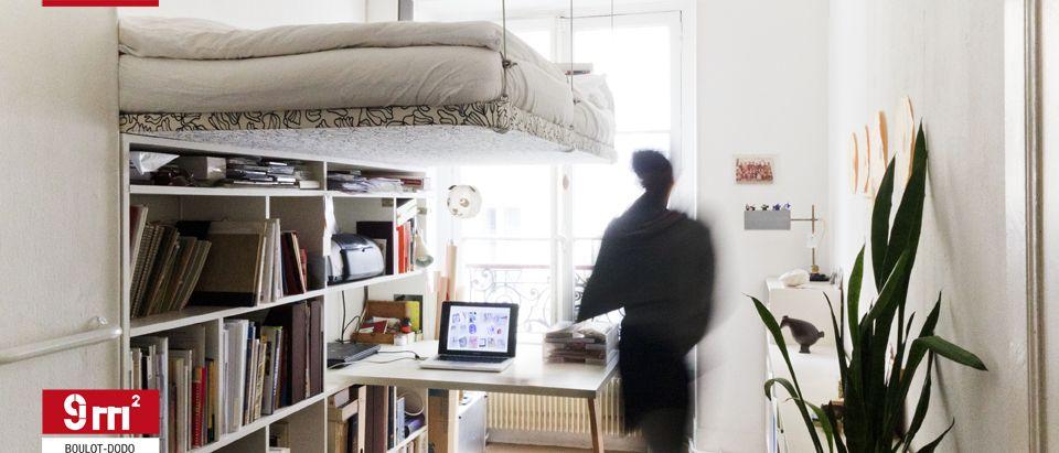 9m2 bureau et chambre amenagement chambre amenagement - Idees amenagement petite chambre 9m2 sos ...