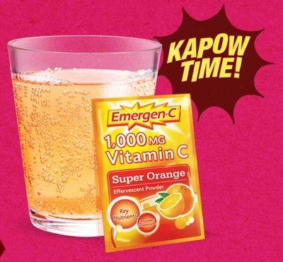 image regarding Emergen C Coupon Printable titled Coupon - Conserve $5 upon #Emergen-C Vitamin C Consume Foods