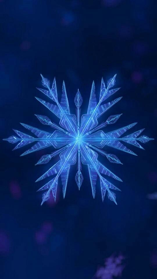 Dunkelblau mit Schneeflockentapete #dunkelblau #schneeflockentapete #fondecranhiver