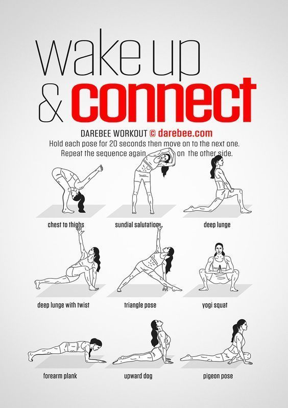 Das effizienteste Trainingsprogramm für Muskelaufbau ~ Komplettes Trainingsprogramm - Yoga & Fitness #goodcoreexercises