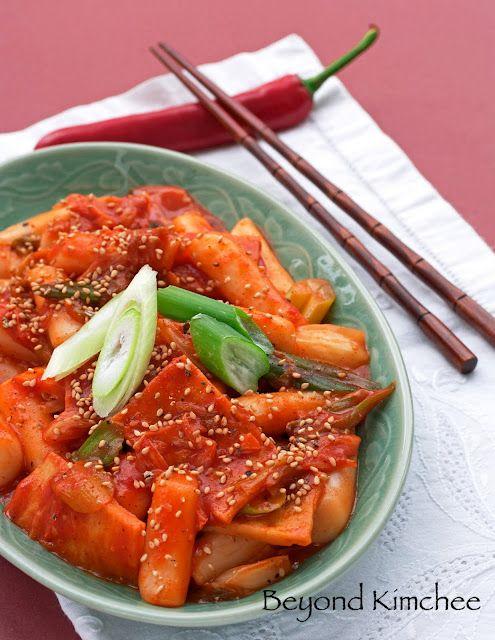 Spicy Korean Rice Cakes