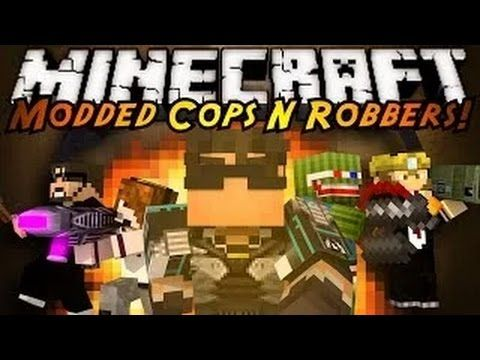 Minecraft Mini Game MODDED COPS N ROBBERS! RIVAL REBELS! - YouTube