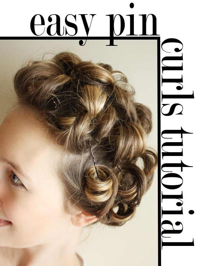 Create Curls Without The Heat With This Easy Pin Curls