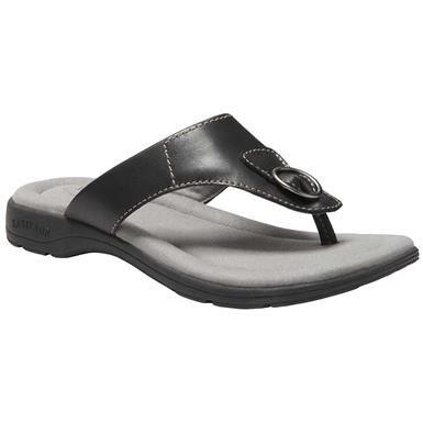 ac9b4678a15b16 Eastland Lottie Flip Flops - Womens Black