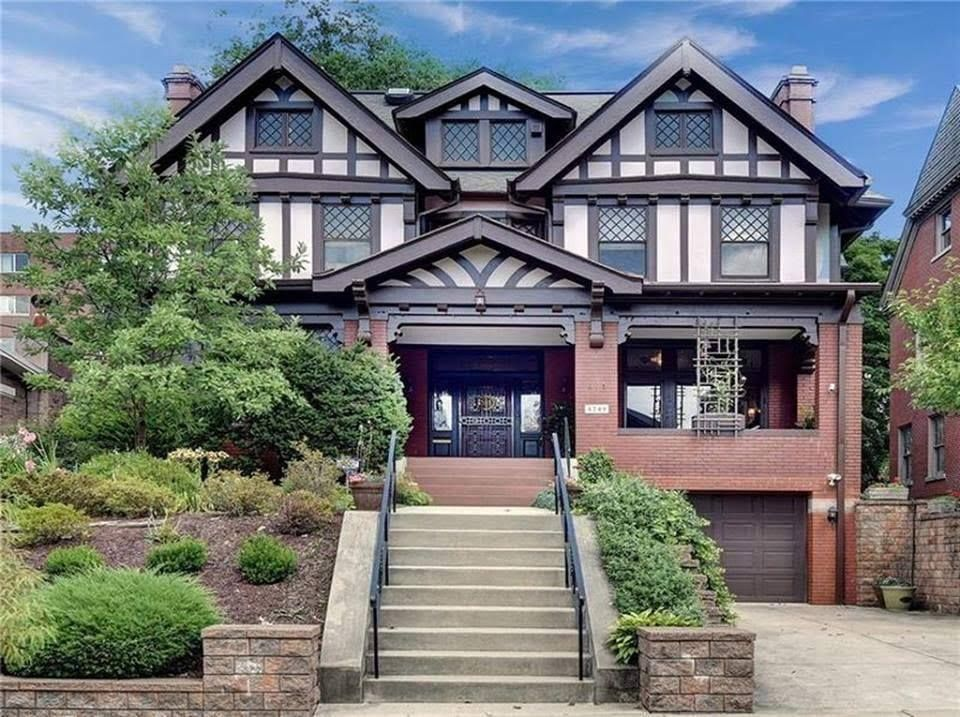1900 Tudor In Pittsburgh Pennsylvania Old Houses For Sale Old