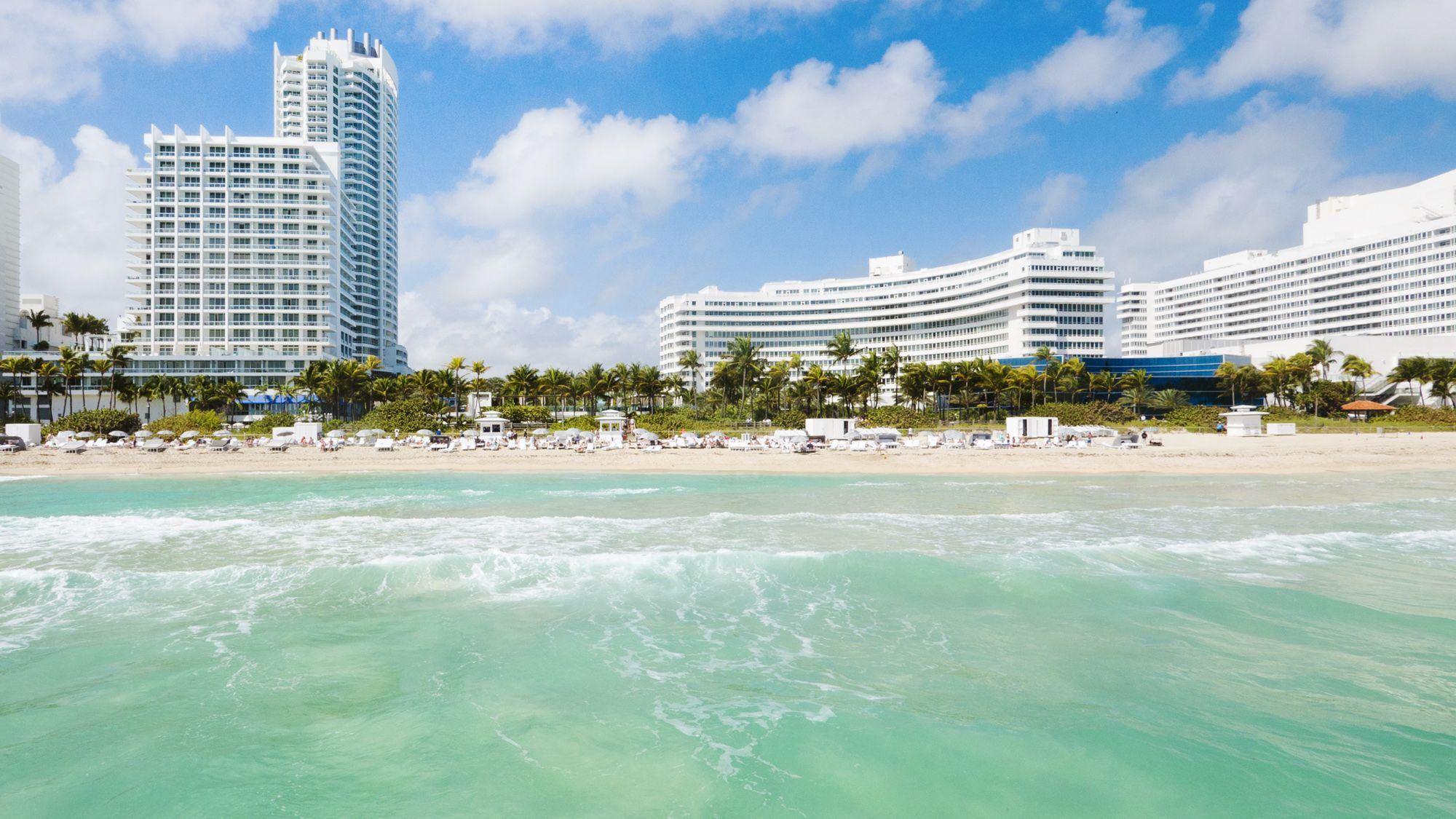 Fontainebleau Miami Beach Hotel Miamibeach Vacation Florida Summervacation