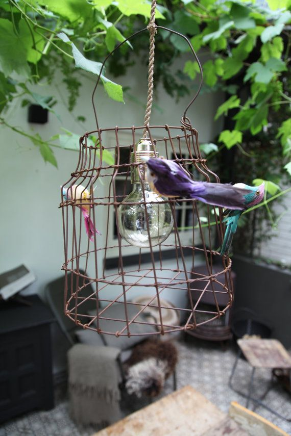 Appendere la gabbia dell'uccello di lampada di DutchDilight, €119.00