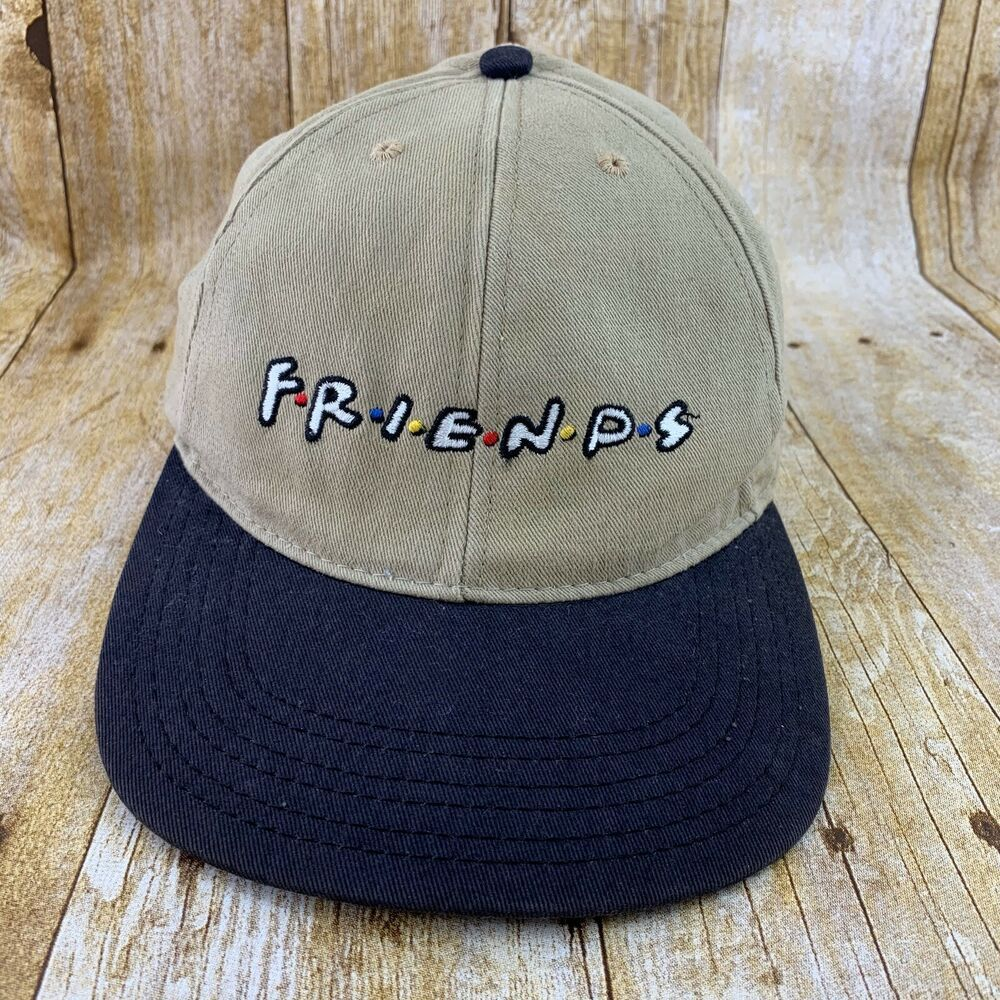 Friends Tv Show Logo Baseball Cap Hat Vintage 1991 Warner Bros Studio Store Warnerbrosstudiostore Baseballcap Casual Hats For Sale Hats Vintage Hats