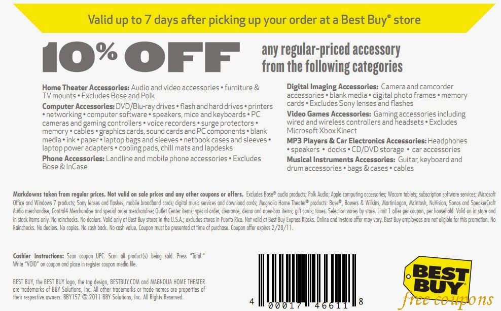 Best Buy Coupons April 2014 Free Printable Coupons Printable Coupons Best Buy Coupons