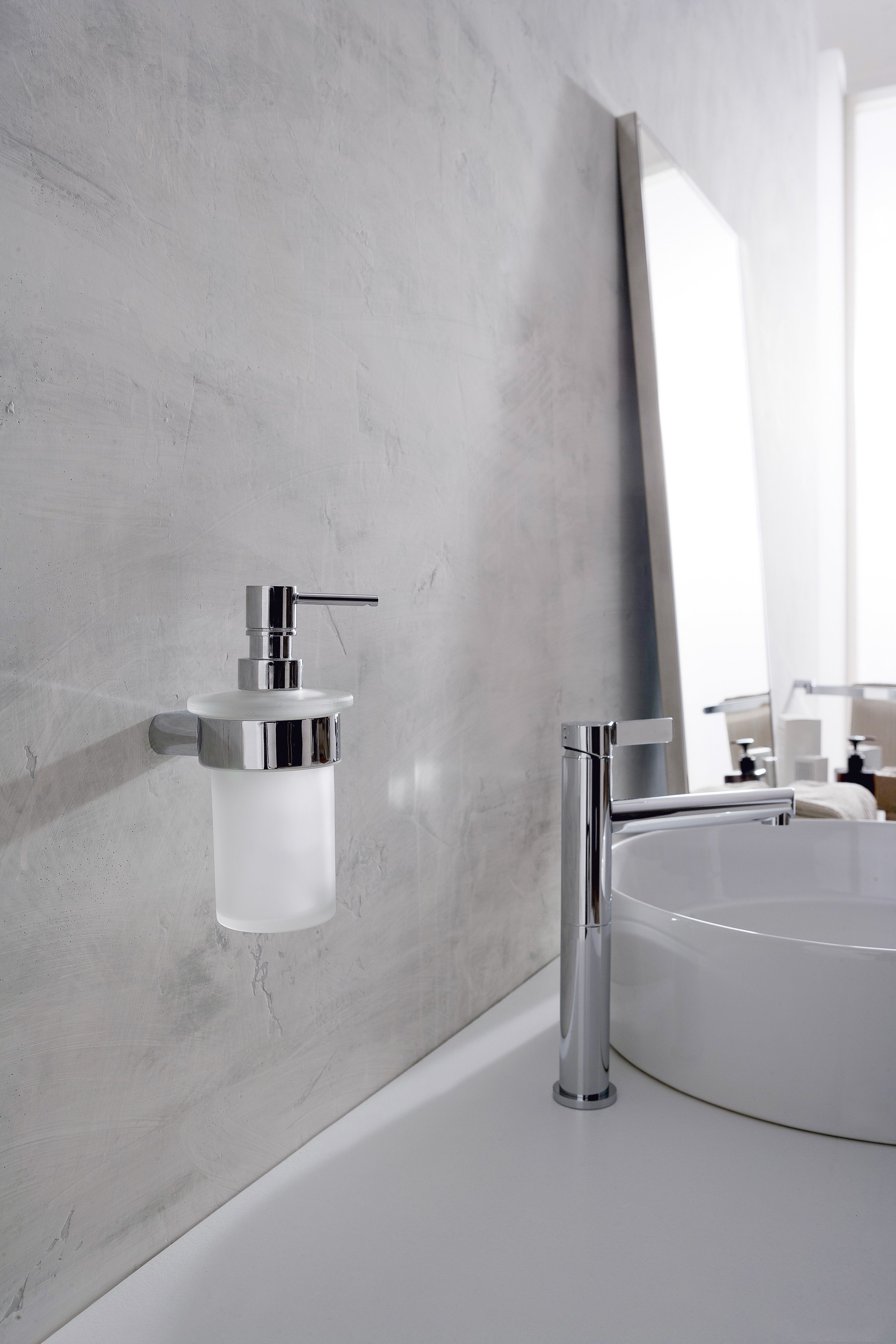 The Soap/Lotion Dispenser matching the Phase and Terra Collections ...