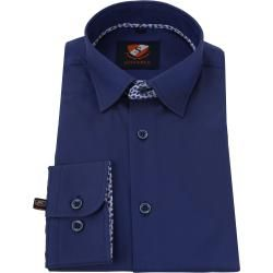 Photo of Suitable shirt Hbd Leaf Royal dark blue
