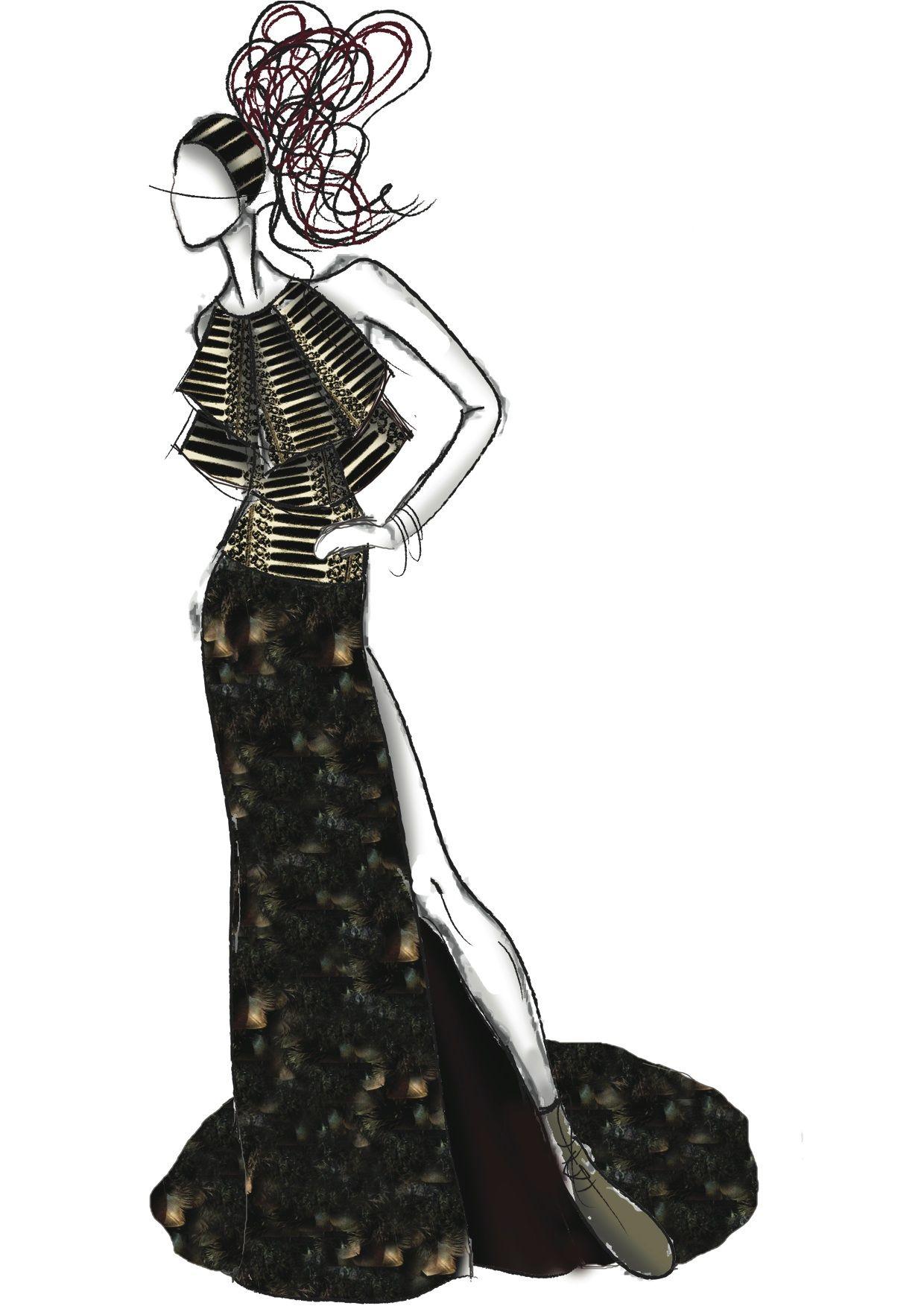 Fashion Illuatrations 'Hoka Hey'