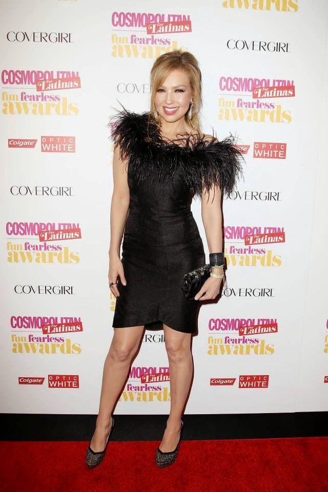 Actress/Songstress Thalia at Cosmopolitan for Latinas Fun Fearless Awards 2014 in New York City.