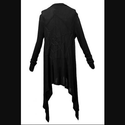 Black Abyss Black Gothic Cardigan by Punk Rave