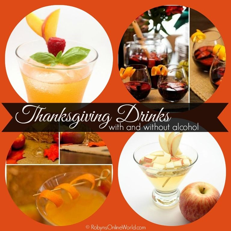 Traditional Thanksgiving Drinks: Thanksgiving Drink Recipes For Kids And Adults