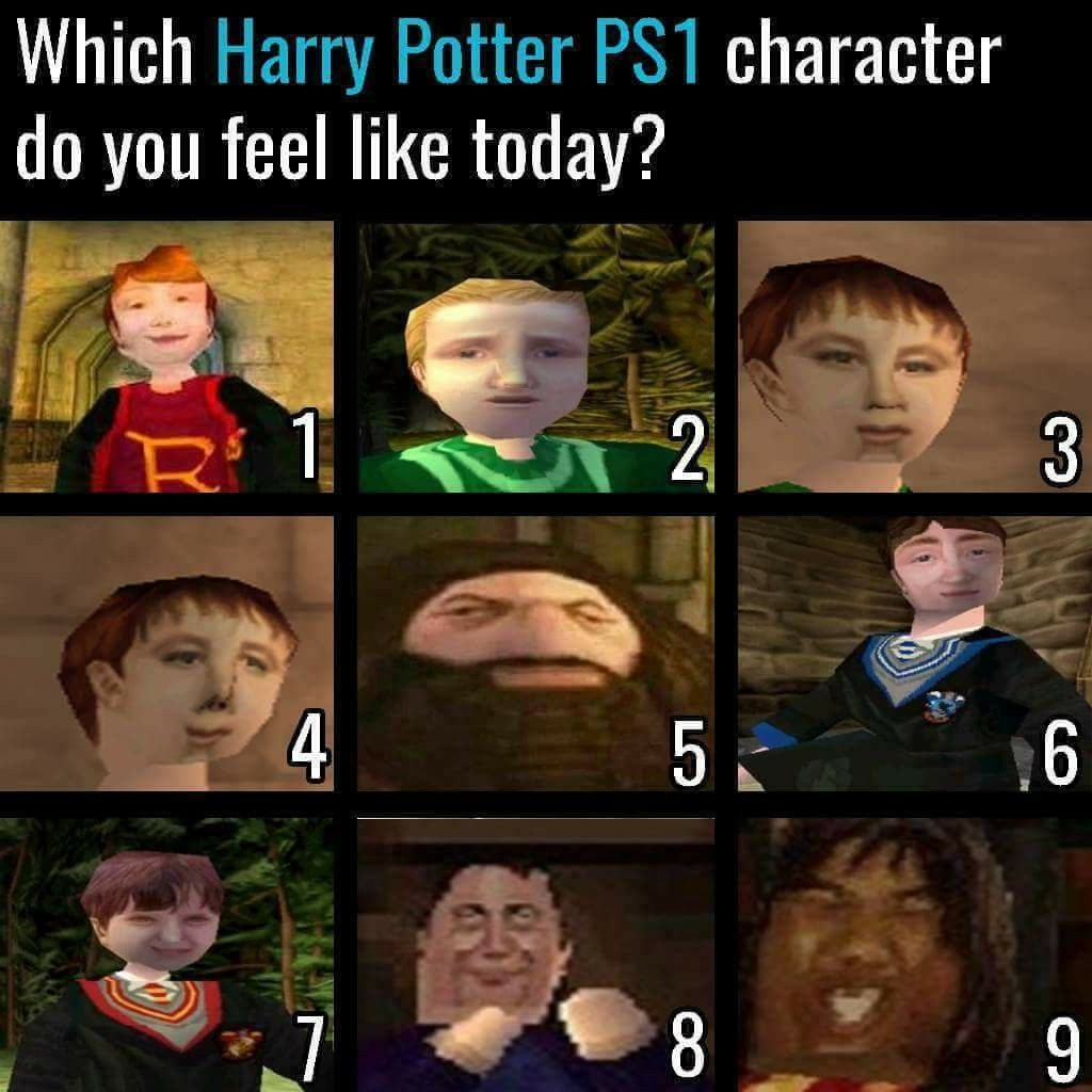 Harry Potter Videogame Ps1 Also A Pc Game Harry Potter Funny Funny Memes Harry Potter Jokes