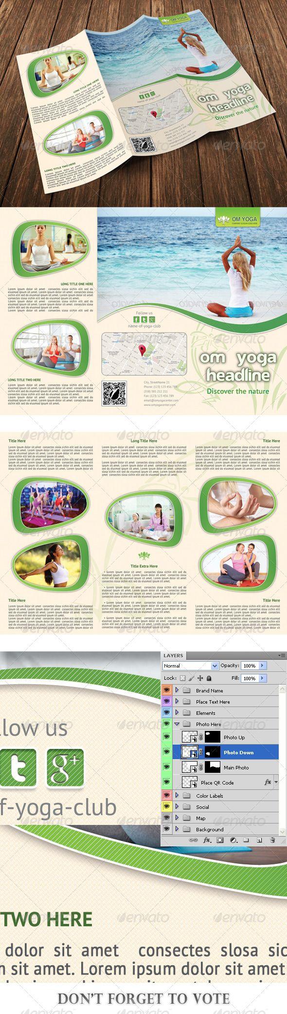 Erfreut Yoga Broschüre Vorlagen Galerie - Entry Level Resume ...