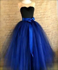 11d1258744 how to make a layered and long tulle skirt - Google Search | Clothes ...