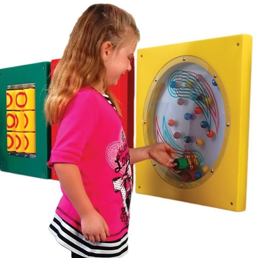 Kids Preschool Daycare Busy Cube Educational Recreation Flipper Wall Mounted Panel Toys Games Wall Paneling Decal Wall Art Sensory Wall