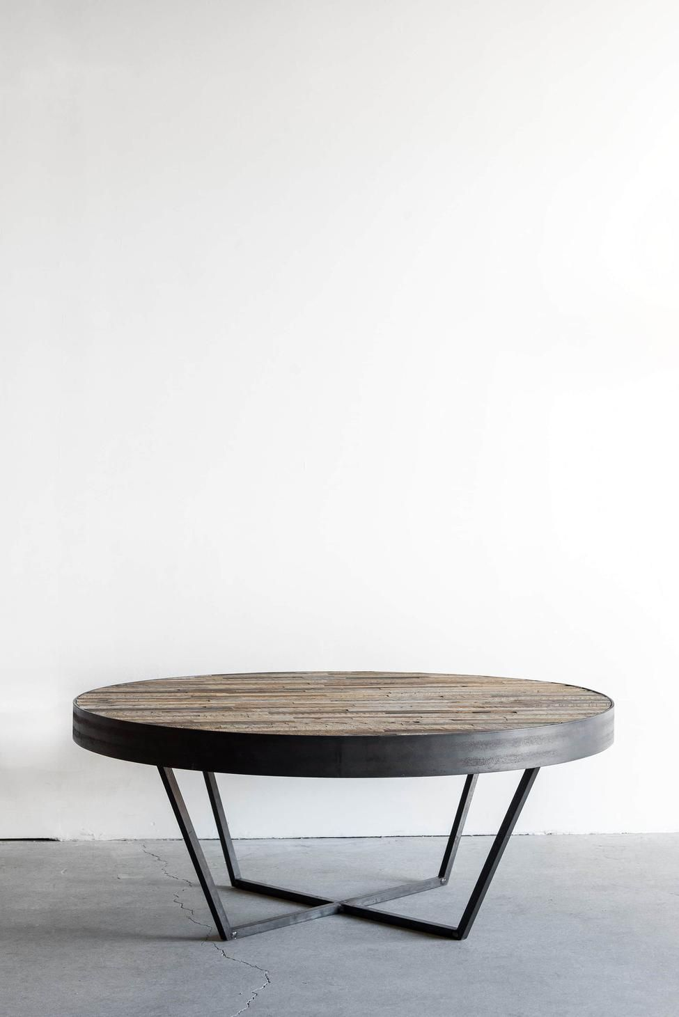 Mossam Coffee Table With Images Round Wood Coffee Table Coffee Table Wood Reclaimed Wood Coffee Table