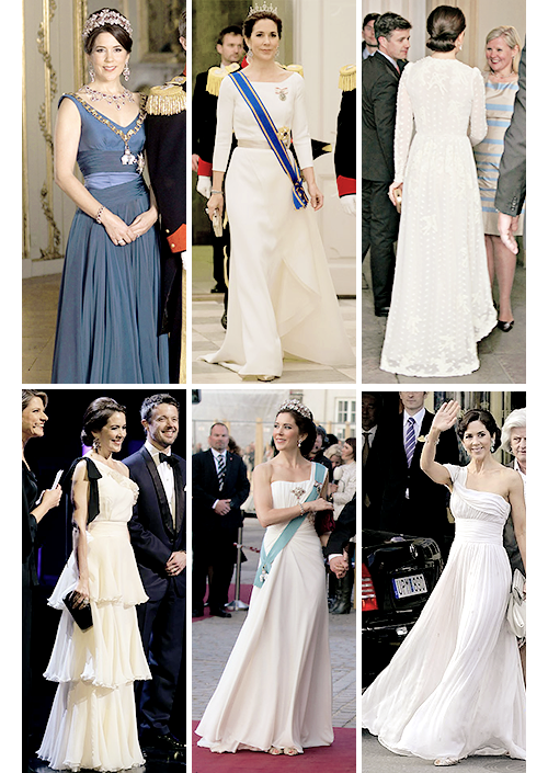 gabriellademonaco: Crown Princess Mary Evening Gowns (+ Crown Prince ...