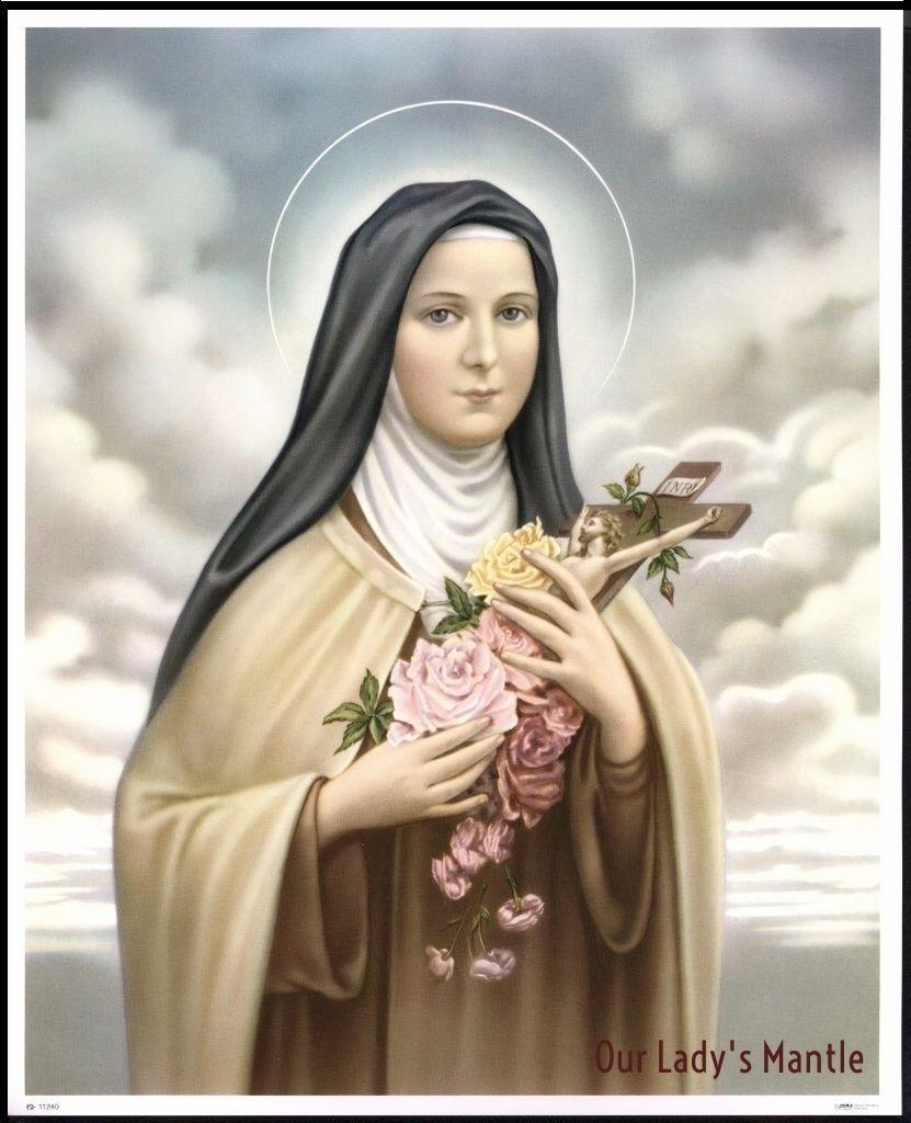 "Saint Thérèse of Lisieux, also known as ""The Little Flower"