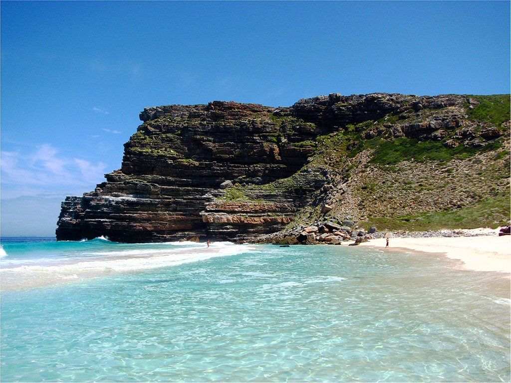 The most beautiful places on earth: Diaz Beach in Cape Town, Cape Point, South Africa, Africa