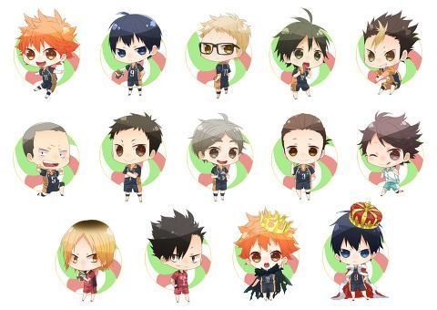 Chibi Haikyuu Wallpaper Google Search Fantasy Manga