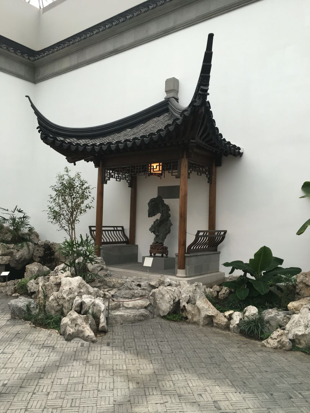 The Astor Chinese Garden Court, Ming dynasty. MediumTaihu