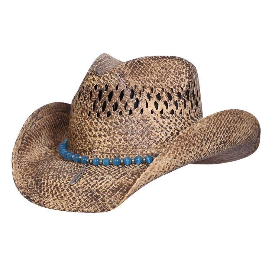 2070712c Western Style Womens Hats - Parchment'N'Lead
