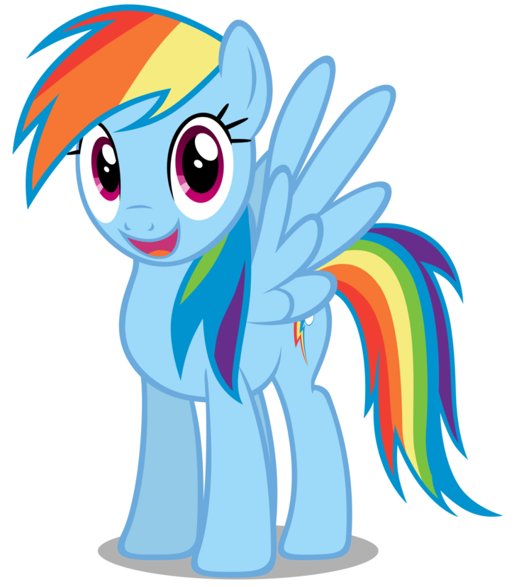 Rainbow Dash My Little Pony Characters My Little Pony Pictures Rainbow Dash