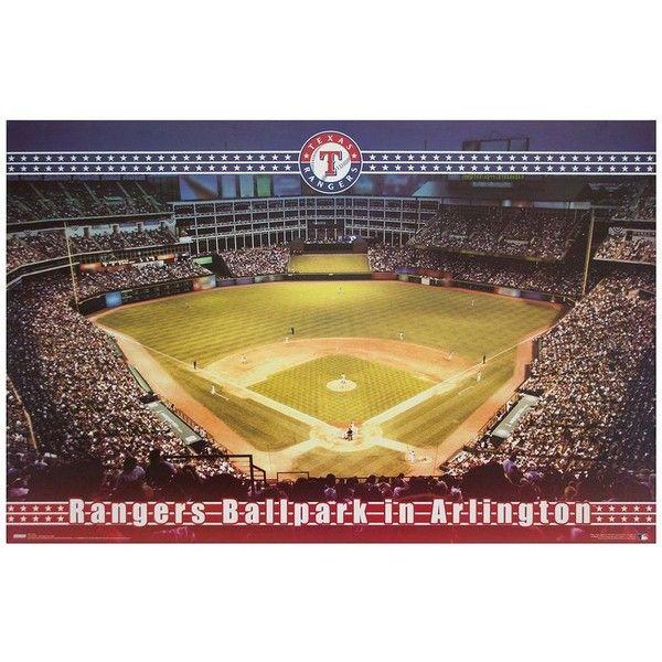 Decor Therapy Texas Rangers Arlington Stadium Canvas Wall Art ...