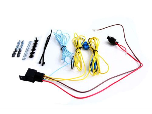 Everything You Need To Wire Up Fog Lights To Your Car Includes